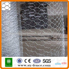 Гальванизированная шестиугольная сетка провода / Шестигранная сетка / Куриная проволочная сетка (ISO9001: профессиональный производитель 2008 года)