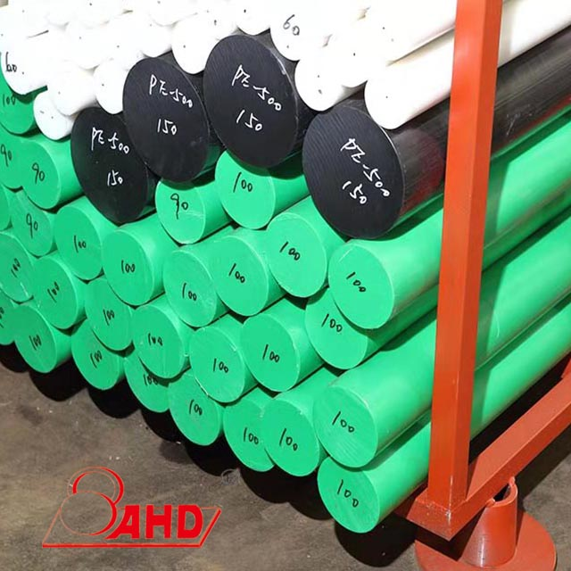 Hdpe White/Gree/Black Rod