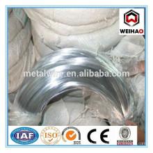 hot sale electro galvanized wire export to DUBAI