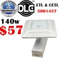 DLC ETL Garage Licht verwendet Parkplatz Lichtmasten 130lm / w hohe helle effiziente explosionsgeschützte 347V 35w-150w Baldachin LED-Licht