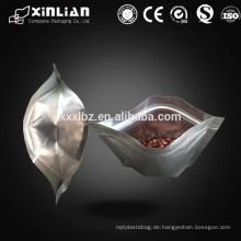 Steh auf Aluminium Vakuum Reißverschluss Tasche Tasche / Reißverschluss Vakuum Verpackung Tasche
