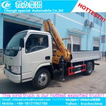 4tons Hydraulic Telescopic Boom Truck Mounted Crane Cargo Crane