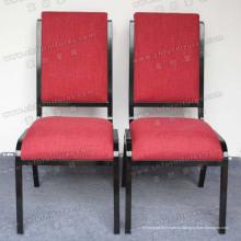 Красная ткань Обедая мебель стула (МК-В65-03)