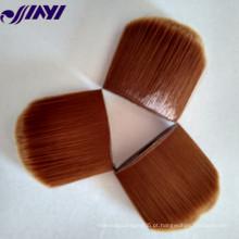 Personalizar cosméticos escova de pó de cabelo maquiagem
