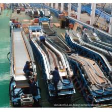 Escalera móvil VVVF con ahorrador de energía para el centro comercial, escaleras mecánicas comerciales