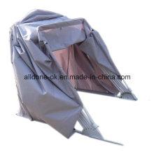 Impermeável OEM motocicleta cobrir a poeira, dobrável exterior impermeável motocicleta Tent Cover