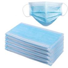 Masques chirurgicaux médicaux jetables non tissés 3 plis