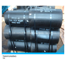 ANSI B16.9 Sch40 A234 Accessoires en acier inoxydable Bw