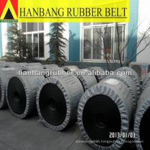 Chevron rope conveyor belts