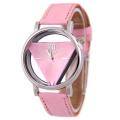 New Design Women Leather Quartz Wrist Watch HOT SALE