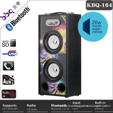 China high quality music horn speaker with USB / SD card slot playback
