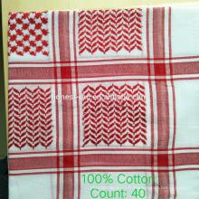 Foulard en tissu Keffiyeh fabriqué en Chine