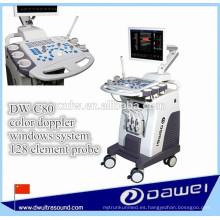 equipo de ecografía DW-C80 PLUS DW-C80 PLUS 3D / 4D y sistema de ecografía doppler color