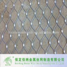 Tecnología avanzada Cuerda de alambre Malla de malla Fabricación