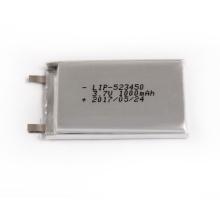lipo battery 523450 3.7v 1000mah li-polymer battery