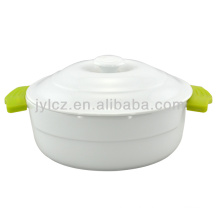 casserole with silicone handles