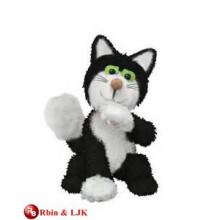 Peluche relleno jess el juguete suave gato