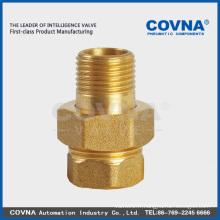 Alliage de zinc / Nickel / Chrome Placage Raccord de raccords de tuyau en laiton de surface
