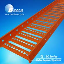 Bandeja de cable de acero pre galvanizado AU Ladder tipo BC3 para el mercado de Australia y Nueva Zelanda