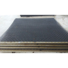 Telas de acero de alto carbono Onduladas-malla de alambre prensado