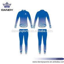 Ombre Cheerleader Sublimation Roupa de esporte