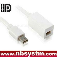 Suporte para cabos de extensão DisplayPort para mini DisplayPort Thunderbolt