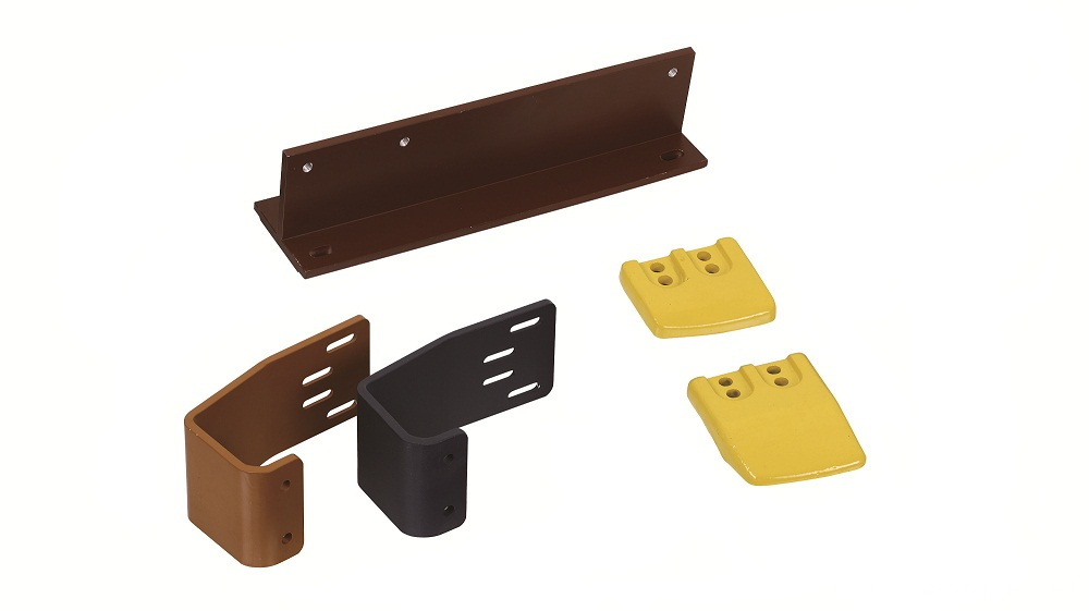 Powder Coated Steel Engineered Parts
