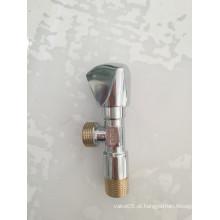Válvula de ângulo de bronze de água do encanamento forjado com preço Foctory (YD-5009-1)