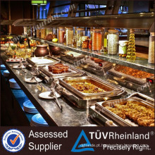 Fornecedor Profissional Furnotel Brand Buffet Fish Restaurant Equipment Prices (CE)