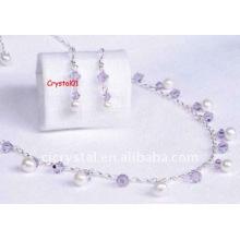 Perles de bijoux en cristal