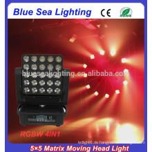 5x5 LED-Panel Blinder Bar Licht pro LED Strahl bewegt Kopf Licht