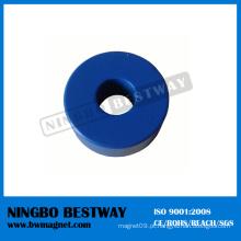 N35 OD28xID10.1x11.94mm NdFeB anel ímã com revestimento de Teflon