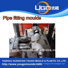 Moule de montage de tuyaux, moule de plomb pliable PP (coude à 90 degrés), injection plastique PPR PVC PE Pipe Fitting