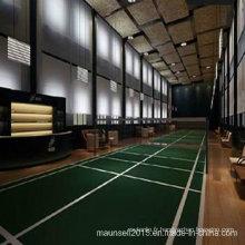 Revêtement de sol en plastique intérieur / extérieur pour tribunal de badminton