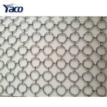 Cortina decorativa de la malla metálica del nuevo diseño para la barra de café, hotel, teatro de variedades