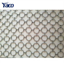 New design decorative metal mesh curtain for coffee bar, hotel, music hall