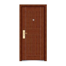 High Quality Steel Wooden Door