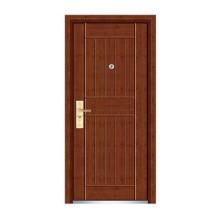 Porta de madeira de aço de alta qualidade