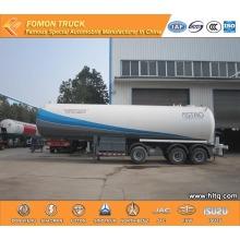 2 axles 40m3 LPG tank semi trailer