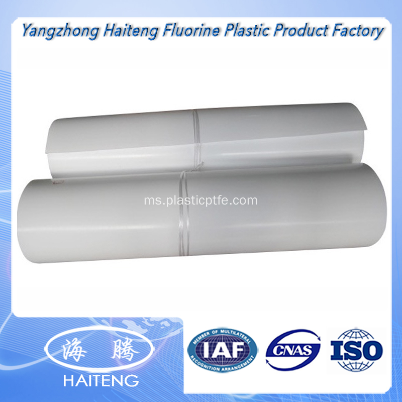 100% Virgin PTFE Bahan Baku Skived PTFE Sheet