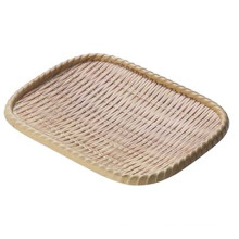 Melamine Wooden Style Rectangle Plate/Dinner Plate (NK13713-10)