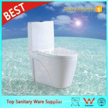Foshan Sanitär Ware Lieferant Weiße Farbe S-Siphon Siphon Jet One Piece Toiletten