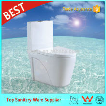 Foshan Sanitary Ware Supplier Color blanco S-trap Siphon Jet Inodoros de una pieza
