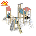Hpl outdoor playground play house play structure