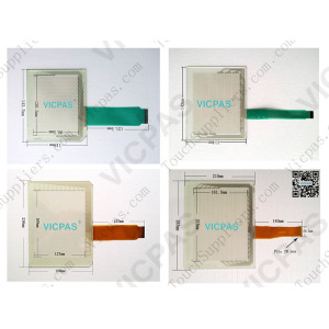 EZ-S6M-R Touch screen panel / Touch screen EZ-S6M-R per EZ