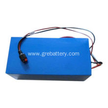 60V 10Ah LiFePO4 battery pack for e-grass cutter