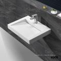 CE approuvé acrylique surface solide pierre extérieure évier de jardin
