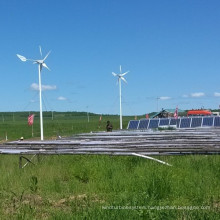 Wind Turbine Solar Panel Power Supply System Used on Farm