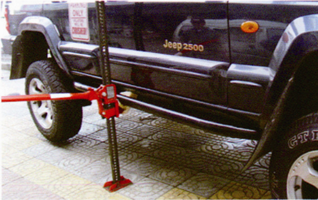 farm Jack car jack red cast