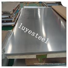 Placa de liga de níquel em chapa de aço inoxidável Monel 400